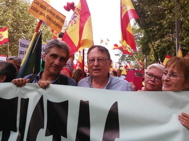 DENAES participó el 09/09/2018 en la manifestación celebrada en BCN